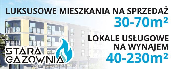 Luksusowe mieszkania na sprzedaż 30-70m2 Lokale usługowe na wynajem 40-230m2